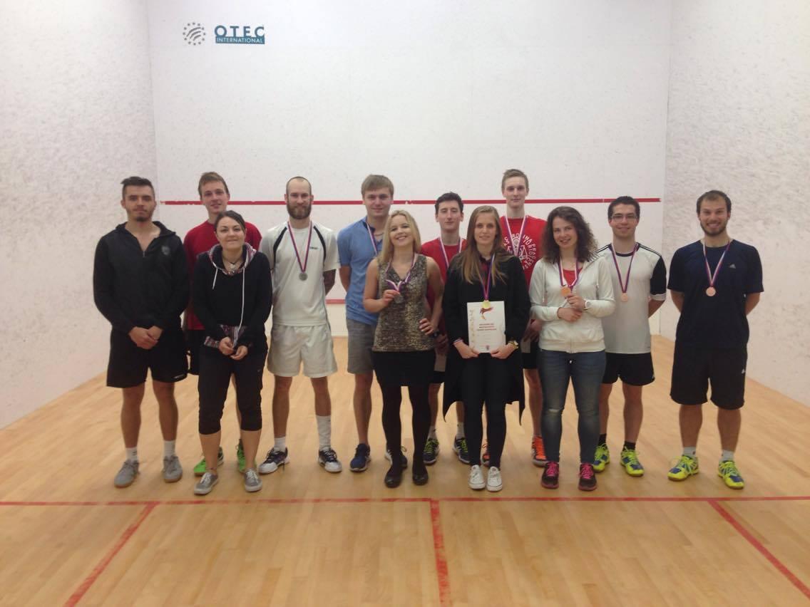 AM ČR ve squashi 2016