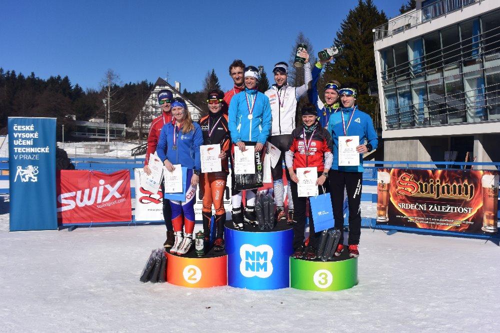 AM ČR v běhu na lyžích 2017