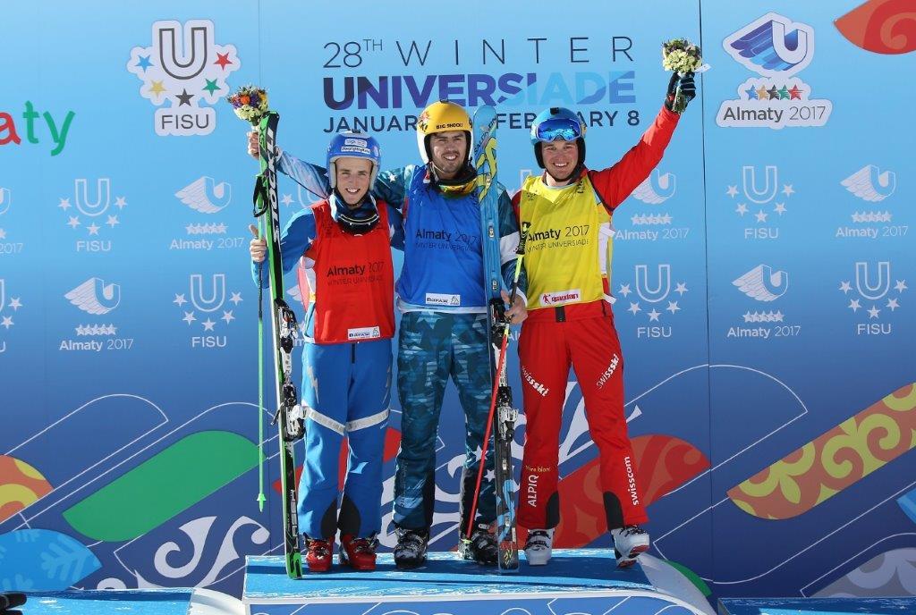 Jiří Čech, zlato ve skicrossu na ZSU