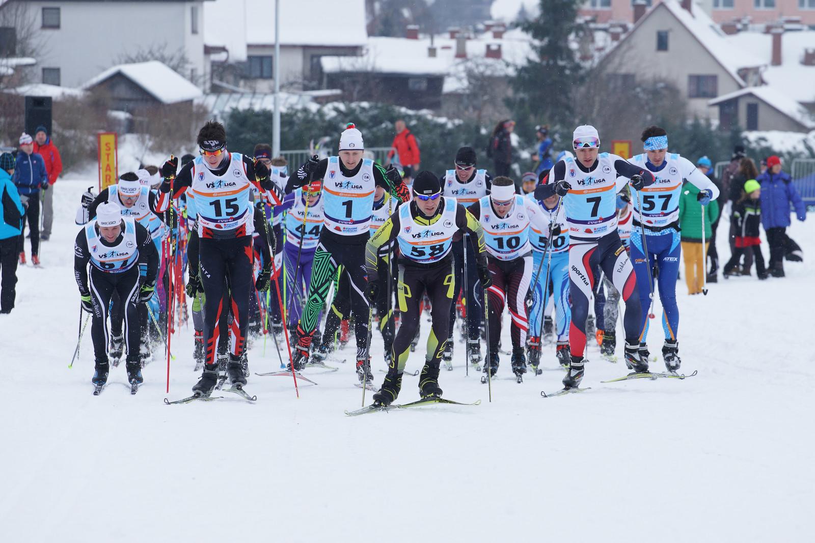 3.kolo VŠ ligy v běhu na lyžích