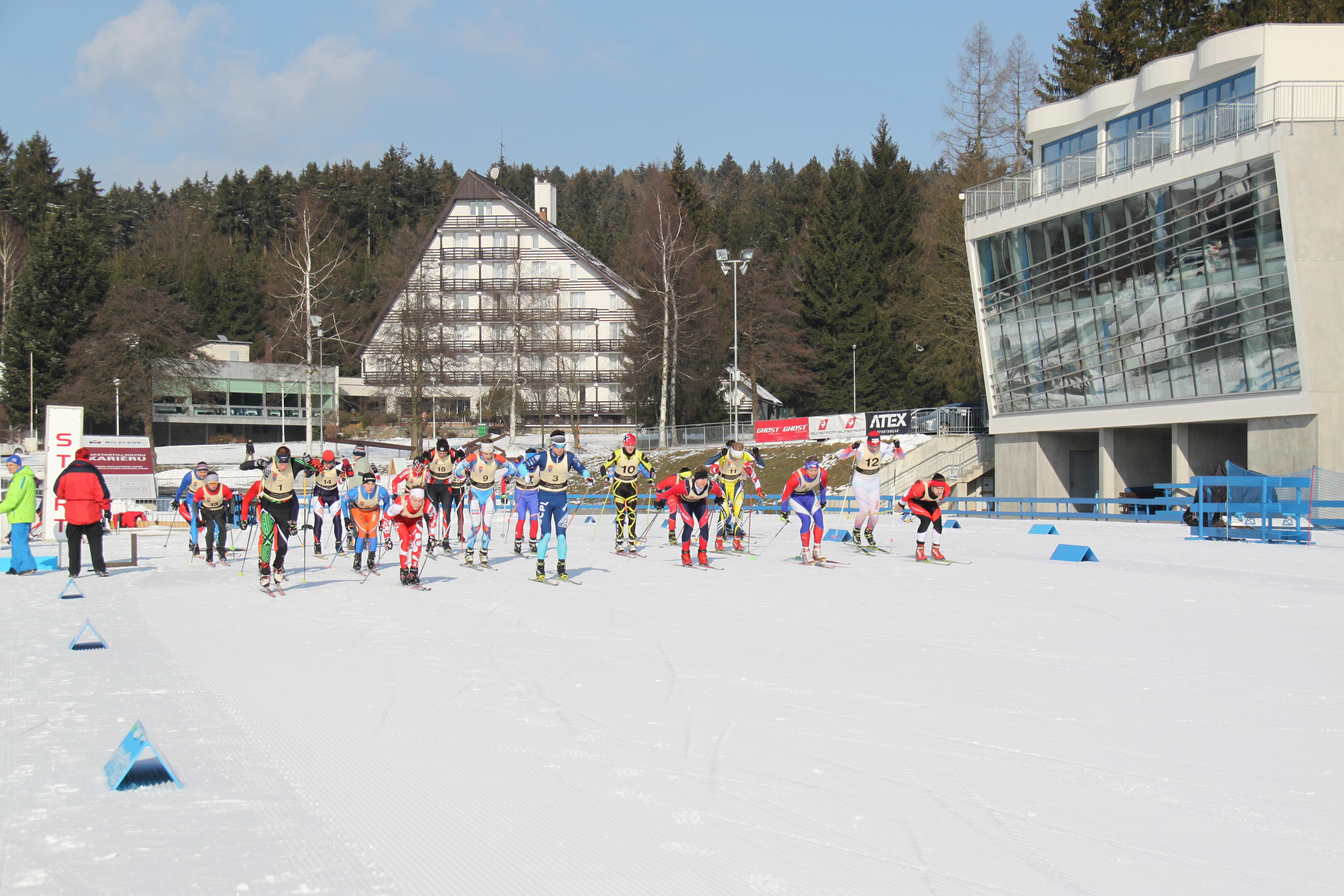 AM ČR v běhu na lyžích 2018