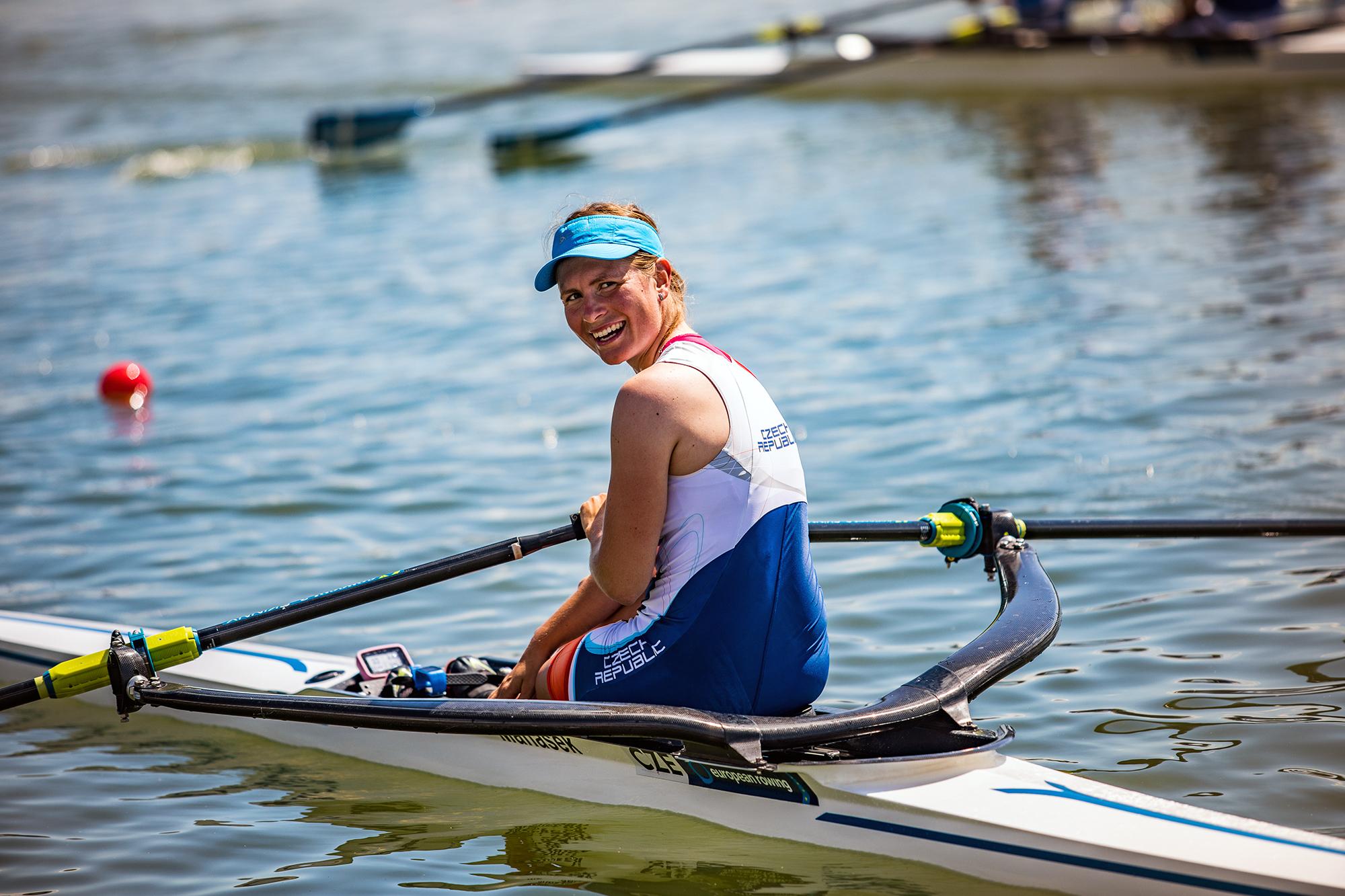 Mistryně světa skifařka Lucie Žabová