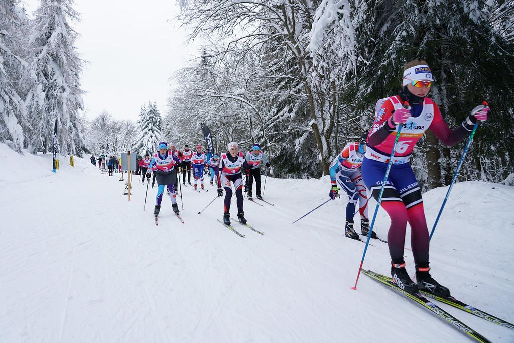 3. kolo VŠ ligy v běhu na lyžích
